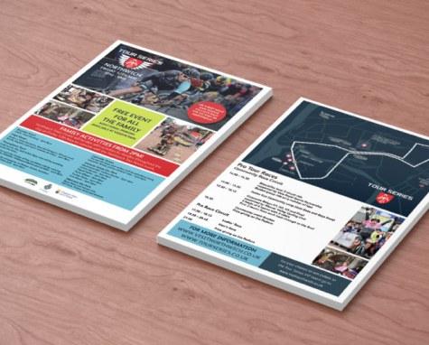 Tour Series Promotional Materials   Northwich Business Improvement District