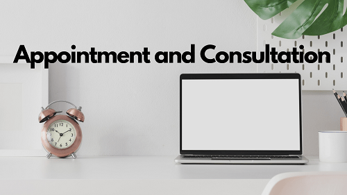 APPOINTMENT AND CONSULTATION