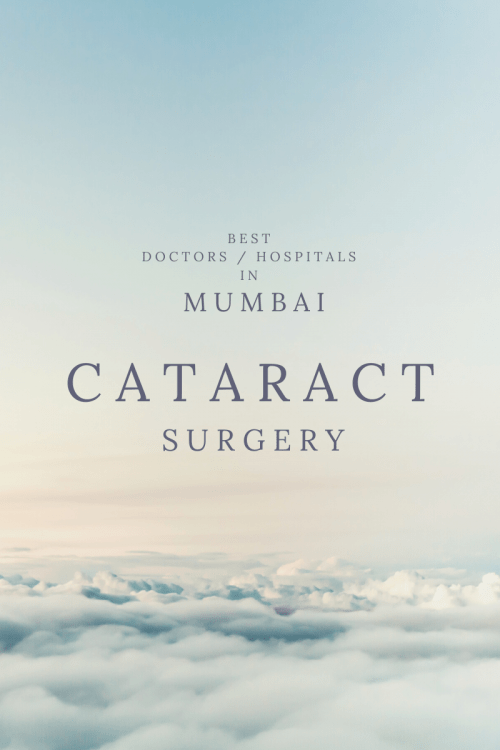 CATARACT Surgery Best Doctors Hospitals in MUMBAI