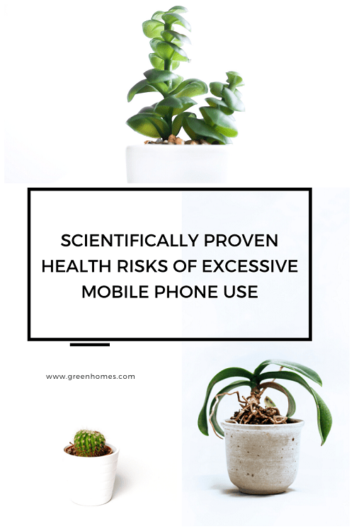 Scientifically proven health risks of excessive mobile phone use