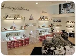 un magasin de chaussure géré avec le logiciel de caisse Phimag