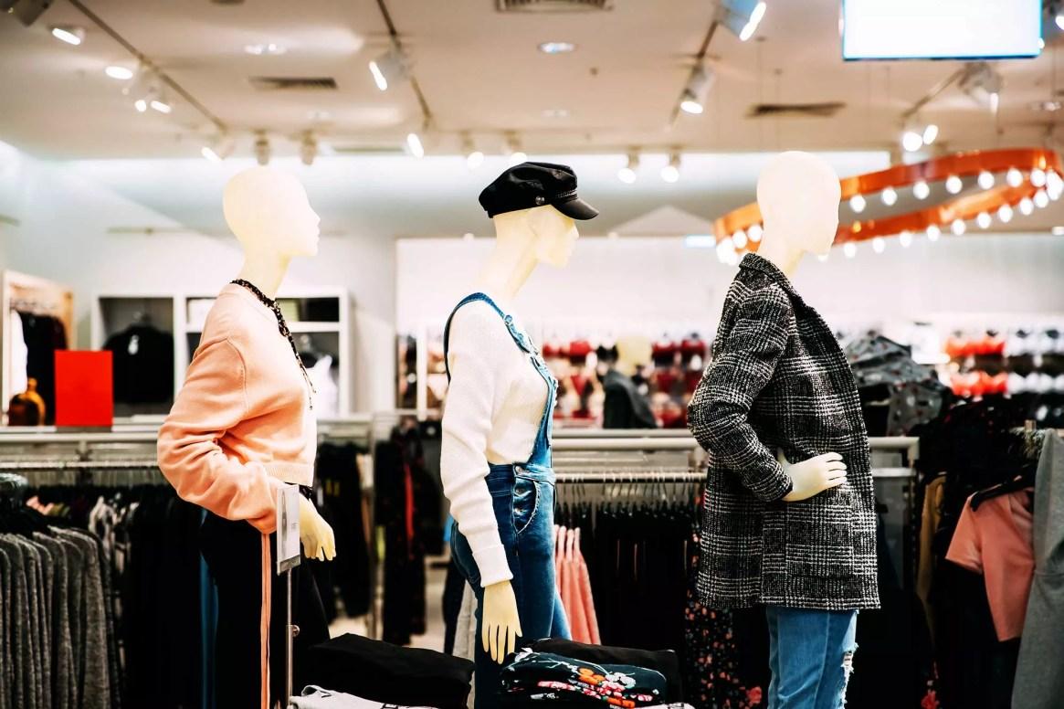 un magasin bien agencé grace aux techniques de merchandising