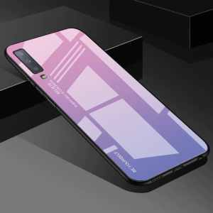 Tempered Glass Case For Samsung Galaxy S9 Plus