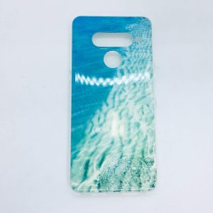 LG V50 case silicone see