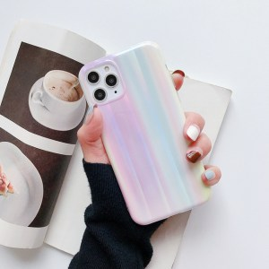 iPhone 11 Pro Max silicon holographic case model 1