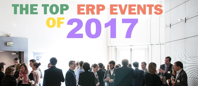"The ""Can't Miss"" ERP Events for 2017"