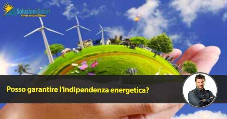 indipendenza energetica domestica vivere senza bollette casa no gas fotovoltaico termopompa pompa di calore
