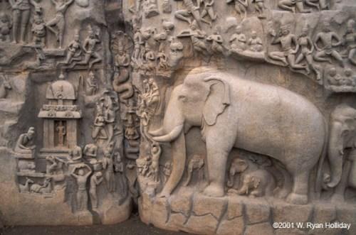 10-mahabalipuram-elephant-carving