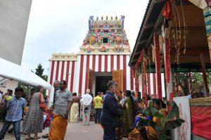 Hindu-Tempel eröffnet