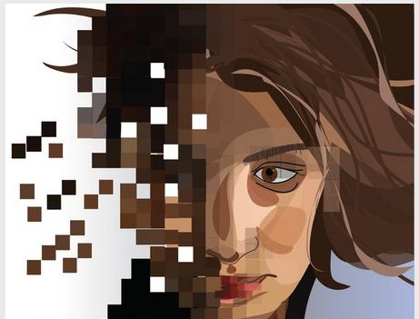 Identity_theft_Pieces_Women_Female_Bits_Pixels