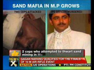 Om Narayan_Sand_Mafia_Killed_Dead_Murder_Police_Cops_Uttar_Pradesh_Madhya_Bihar