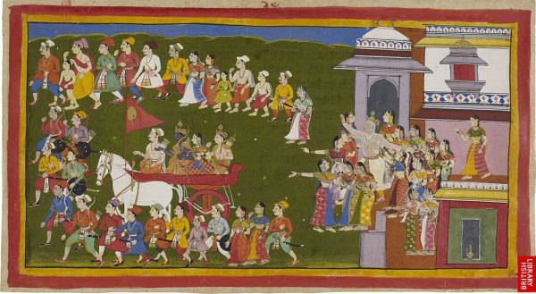 Rama_leaving_for_fourteen_years_of_exile_from_Ayodhya
