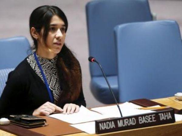 Nadia_Murad_Basee_Taha_Yazidi_Woman_UN_Security_Council_IS_ISlamic_State_ISIS_Muslim