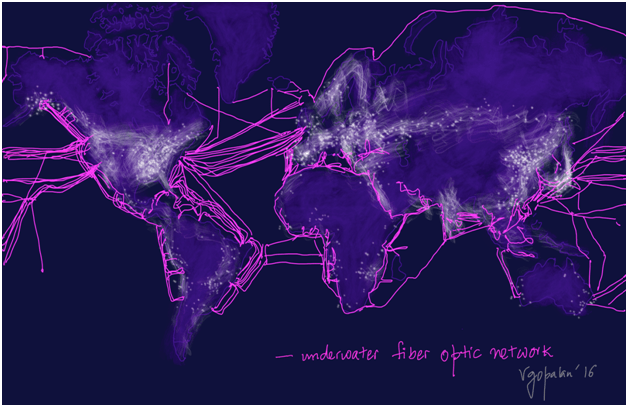 fibreoptic network