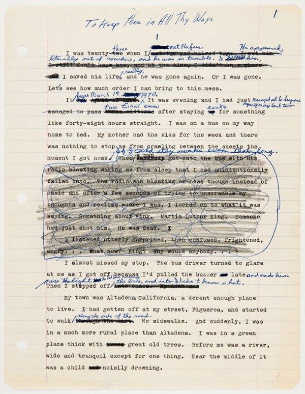 print_corrections_octavia_butler_proof_reading_changes_manuscript_books_edit_kindred
