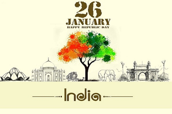 26th January Indian National Flag Tricolor Pics