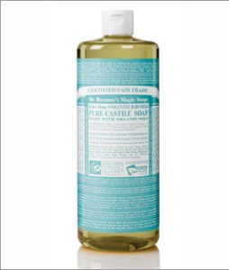 Dr. Bronners baby mild soap