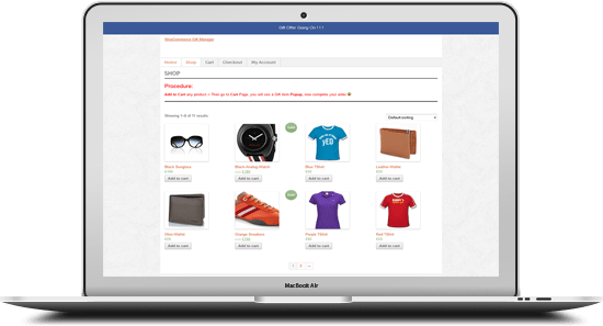 WooCommerce Gift Manager 11