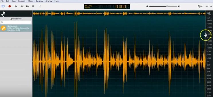 OcenAudio Audio Editor-SolveWarePlus