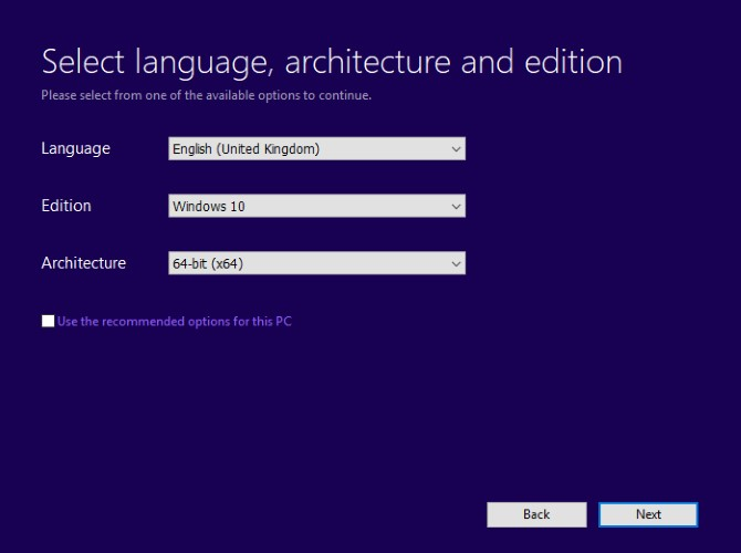 Windows Media Installer Language