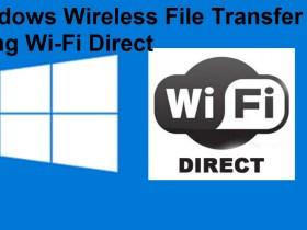 Windows Wireless File Transfer Using Wifi Direct