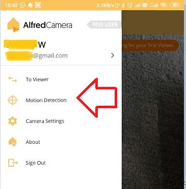Alfred Motion Detection