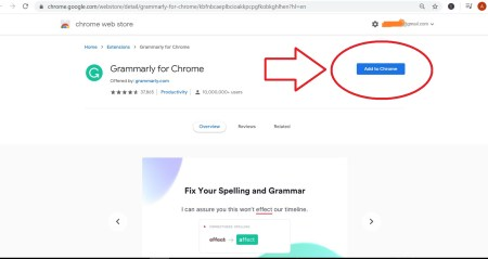 How To Add And Activate Grammarly For Chrome Browser – SolveWarePlus