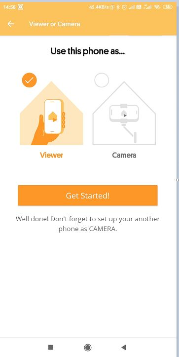Set Android as Viewer Camera