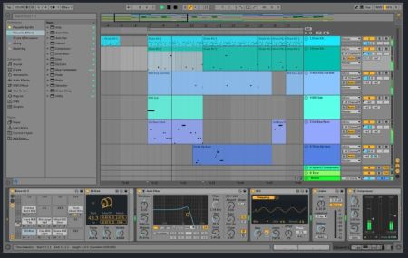 Ableton Live 10 Interface
