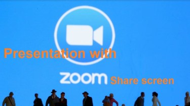Presentation With Zoom Share Screen Feature