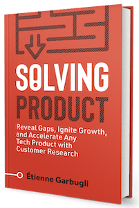 Solving Product – Book Cover