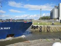 Celtica Hav entering Marshall Dock