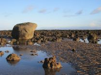 'Hanging Stone' amongst the reefs