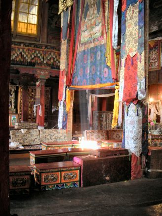 Assembly hall - Tibet