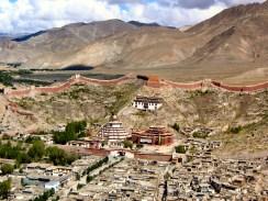 Gyantse ancient city, Tibet