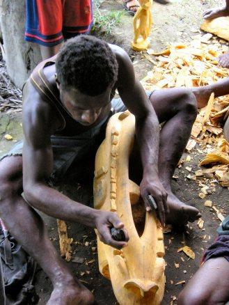Sepik artist