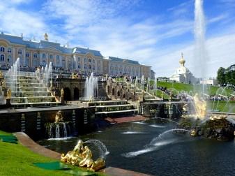 Peterhof Grand Cascade