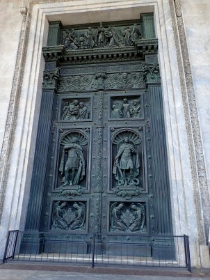 Doors of St. Isaac's Cathedral