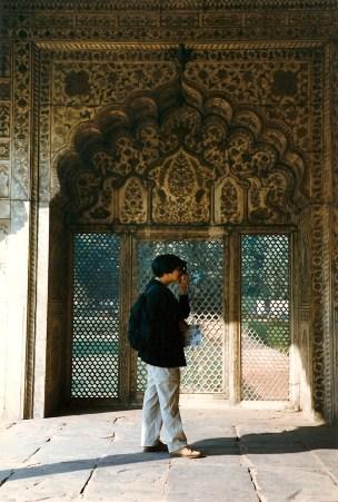 Inside the Taj