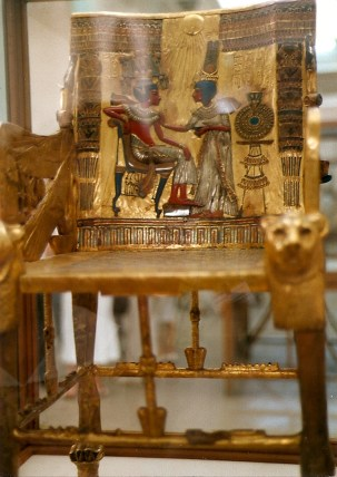 This was inside King Tut's tomb