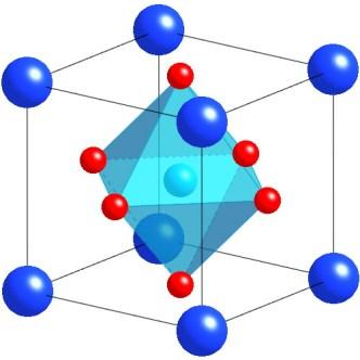 Image result for perovskite structure catio3
