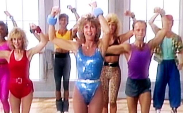 80s Workouts- Jane Fonda