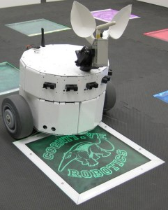 The CARL robot, from UC Irvine's Cognitive Anteater Robotics Laboratory.