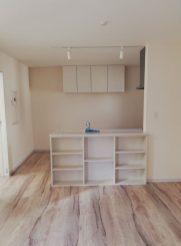 キッチン正面 角度調整1105