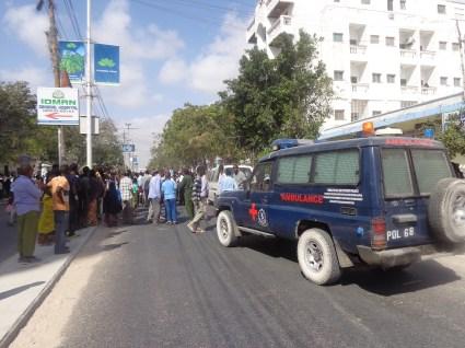 AMISOM Hit and Run in Mogadishu