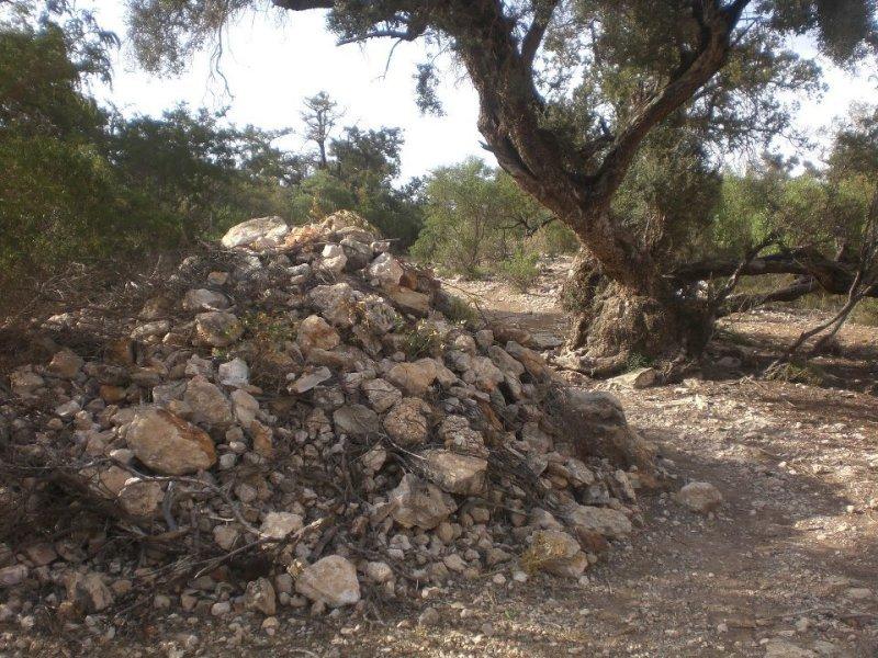 Arraweelo gravesite in Sanaag