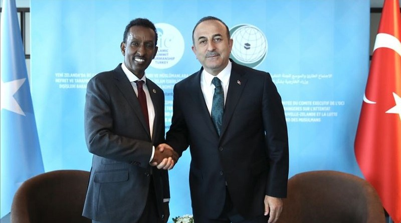 Somalia Foreign Minister Ahmed Isse Awad