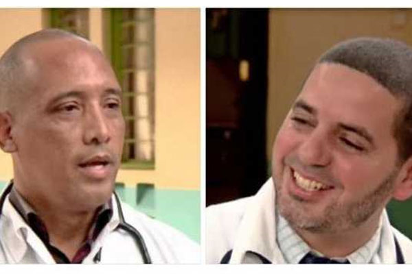 Dr Assel Herera Correa and Dr Landy Rodriguez
