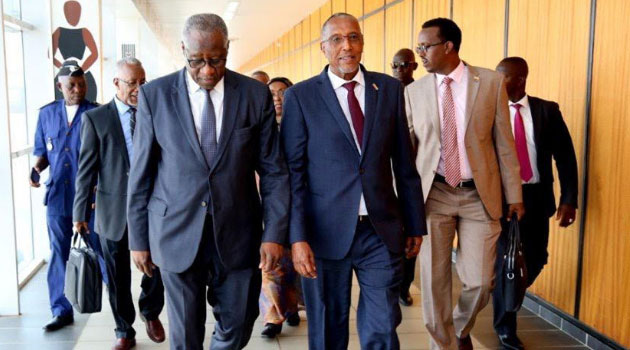 Somaliland President Musa Bihi is in Guinea on an official visit.