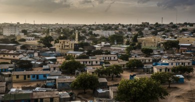 Hargeisa's Police Line